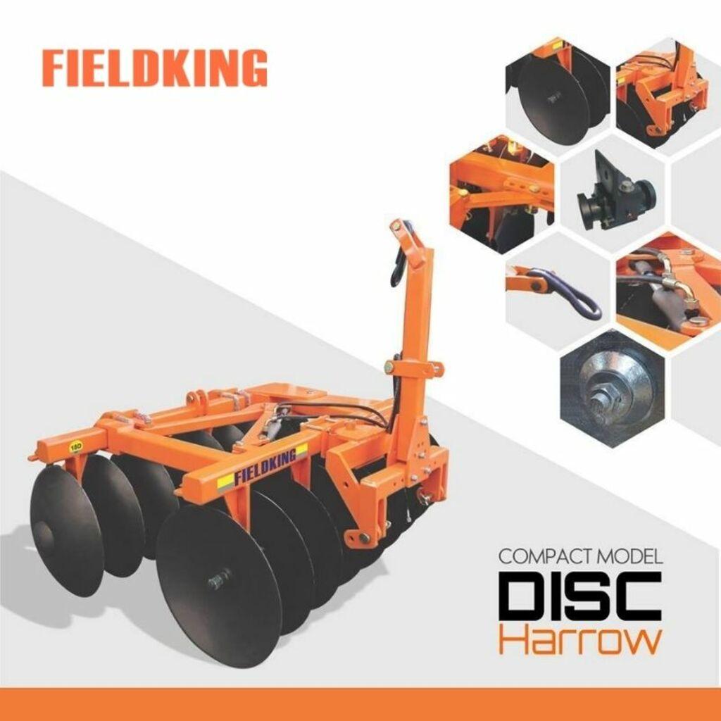 Disc Harrow | Tractor Disc Harrow | Tractor Harrow by Fieldk... via fieldking