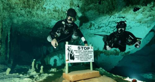 Buchen Sie ein Tauchabenteuer beim Höhlentauchen in Yucatan.... via Cenote Diving