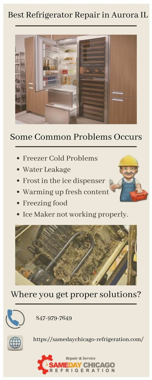 Are you worried about your refrigerator problems? Stop Worry... via SameDayChicagoREF