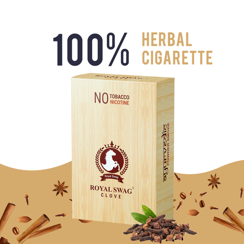 Royal Swag Herbal Clove Therapy Cigarettes                                                                           🌿 Healthy Smok... via retailpharmaindia