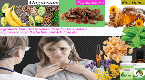 Ingredients That Used in Natural Remedies for Achalasia via Natural Herbs Clinic