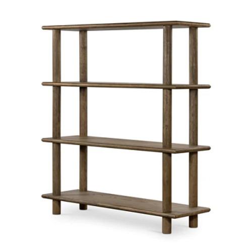 Buy Four Hands Mattia Bookshelf-Toasted Natural | Bookcases ... via Grayson Living