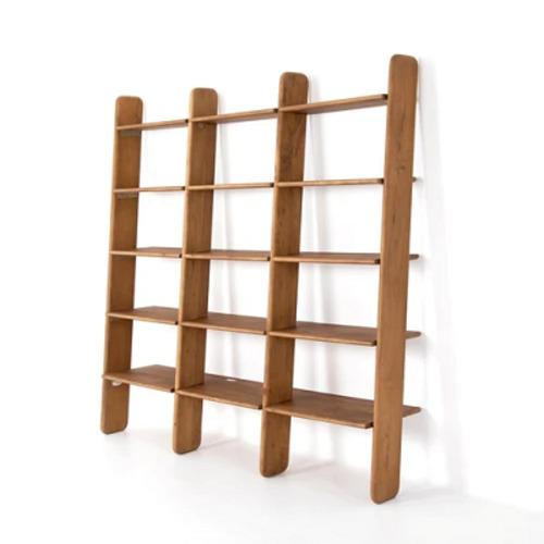Buy Four Hands Jeet Bookshelf-Light Acacia | Bookcases & Eta... via Grayson Living