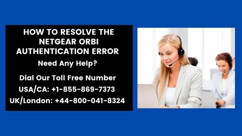How To Resolve The Netgear Orbi Authentication Error