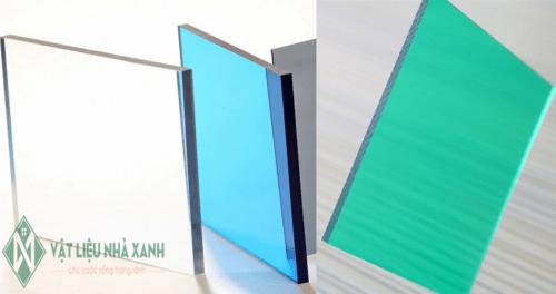 Tấm Polycarbonate ✽/ Tấm Poly Đặc Ruột - Rỗng Ruột