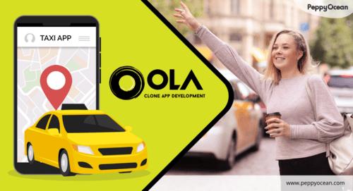Want to develop a #taxibookingapp like #OLA? We offer next-g... via PeppyOcean