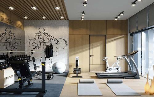 Thiết kế nội thất phòng Gym, thể hình đẹp, cao cấp - Hoàng Minh Decor