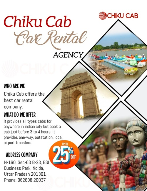 Book One Way Taxi for other cities from Chandigarh with Chik... via Chiku cab