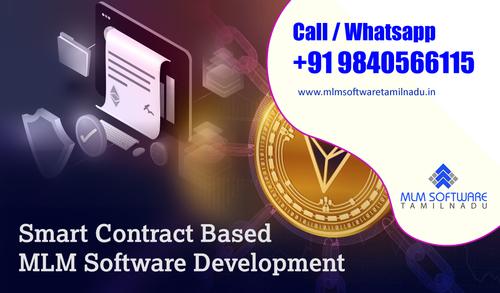 Smart Contract Based MLM Software Development Plans-MLM Soft... via MLM Software Tamilnadu