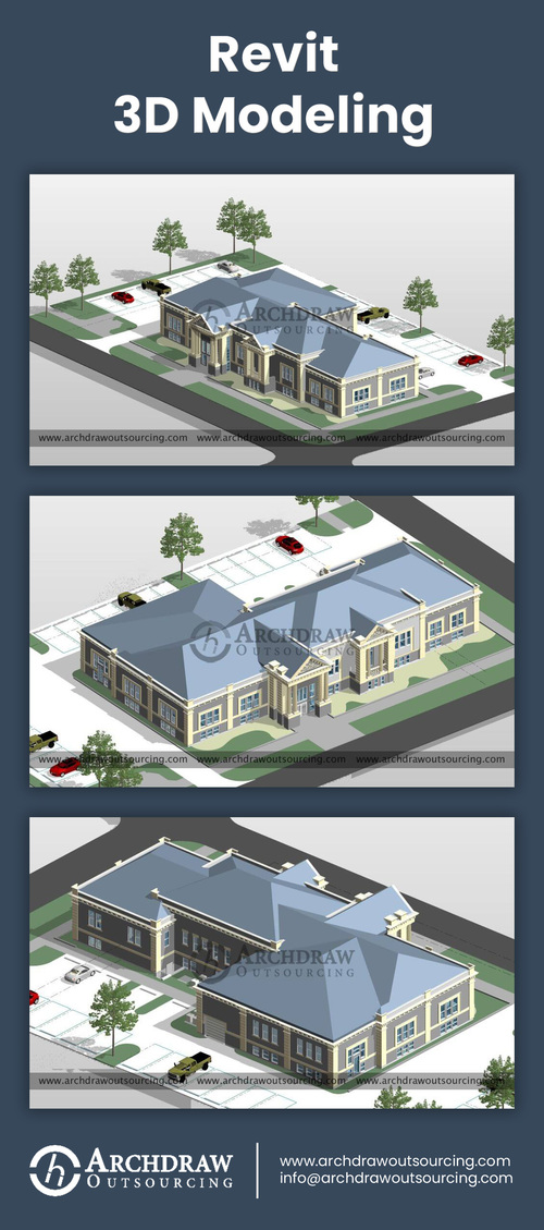 Revit Modeling Project via Archdraw Outsourcing