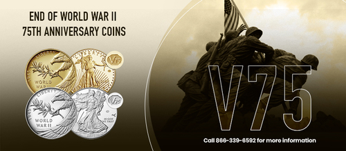 End of World War II 75th Anniversary coins   US Coins via Sandra Ikonn