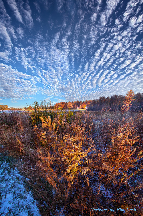 Wisconsin Horizons by Phil Koch                                     Turning natural landscapes i... via Phil Koch
