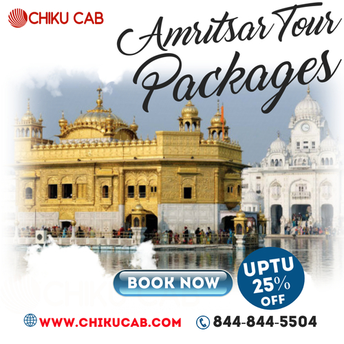 Book Car Rental in Amritsar for Outstation Taxi from Chiku C... via Chiku cab