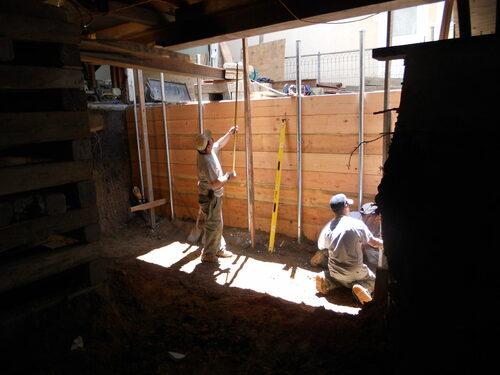 Basement Drain via Jim Gardner Construction