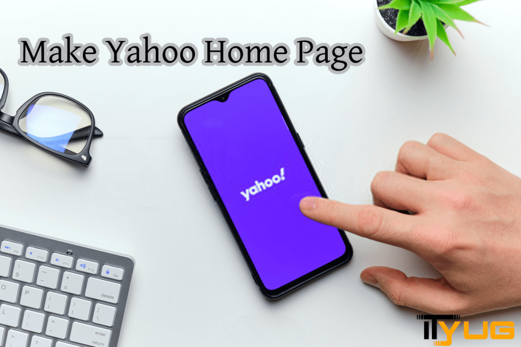 Make Yahoo Home Page via David Smith