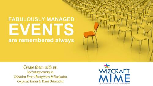 Corporate Event Management Course | Wizcraft MIME via Wizcraft Management Institute of Media and Entertainment