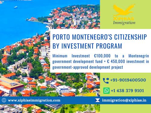 Porto Montenegro's Citizenship by Investment Program via Fularani Vhansure