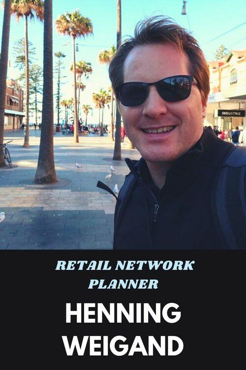 Henning Weigand Retail Network Planner