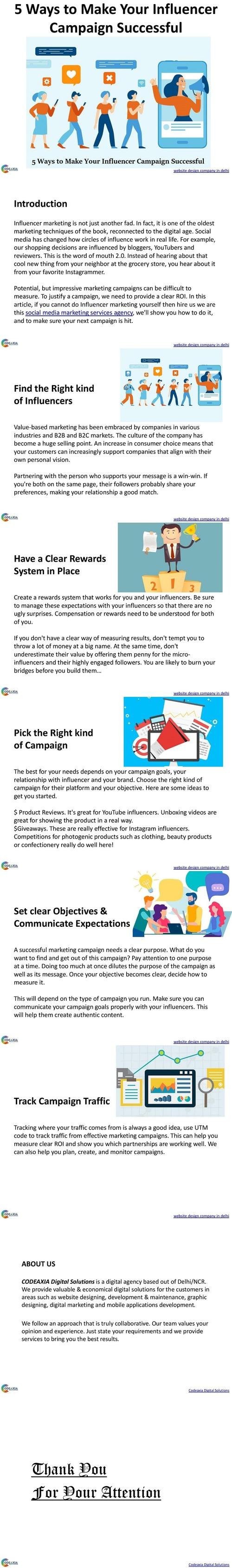5 Ways to Make Your Influencer Campaign Successful via Shalini Khurana