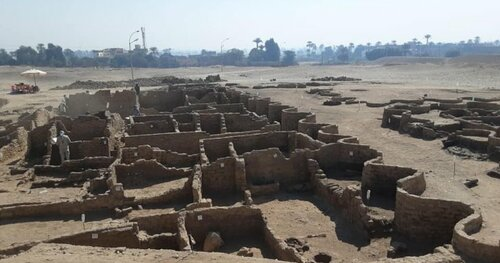 3,000-year-old 'Lost Golden City' found under the sands of Egypt