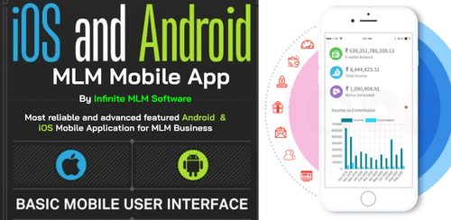 Infinite MLM Mobile App is a completely automated web and mo... via Infinite MLM Software
