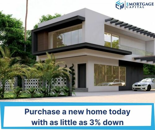 We have conventional loan programs that allow you to put dow... via Joseph Shalaby
