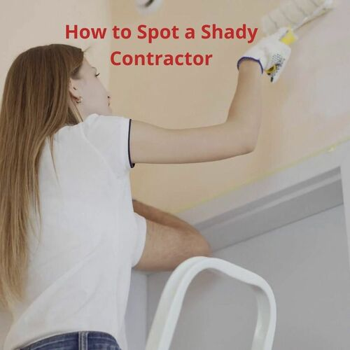 How to Spot a Shady ContractorAs a painting contractor in Portland, Oregon, Brian Erik Jamison warns people to beware of untrustworthy contractors. It has become an epidemic in the US of shady house contractors giving the prestigious ones a bad name.#Brian Erik Jamison