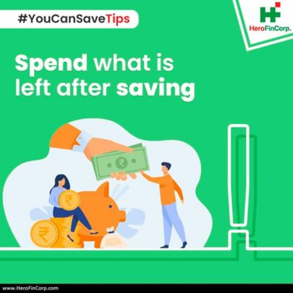 You Can Save Tips via Hero FinCorp