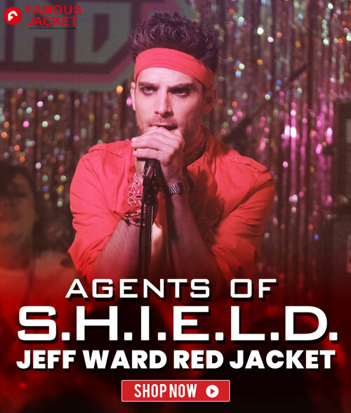 Agents of Shield Season 07 Jeff Ward Red Jacket                                                                                  🛒.SPRING S... via famous jacket