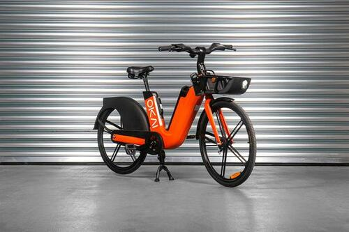 Why the Okai EB100 might be the best sharing e-bike for your fleet