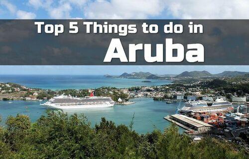 Top 5 Things to do in Aruba • ModernLifeBlogs