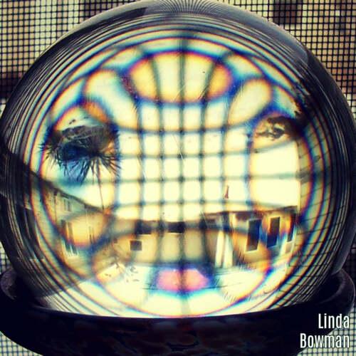 Crystal Ball by Linda Bowman via Squared Circling