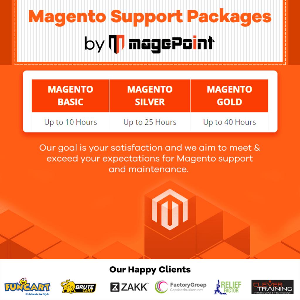 Magento 2 Store Support & Maintenance Services via magePoint - Magento Development Company