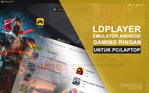 LDPlayer: Emulator Android Ringan Untuk Pengalaman Gaming Terbaik - Ngobrol Game