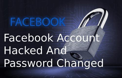 Facebook Account Hacked And Locked via David Smith