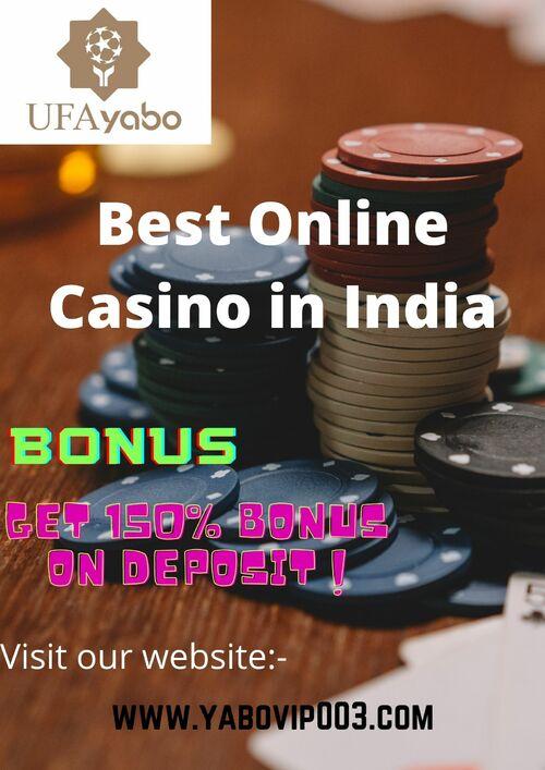 Best Online Casino platform in India via UFA Yabo