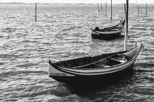 Boats in the river - Aveiro/Portugal via Gil Reis