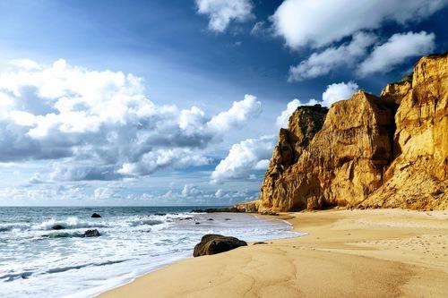 Natural beach - Vale Furado/Portugal via Gil Reis