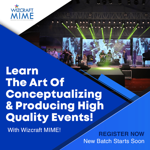 Best Courses for Event Management in India | Wizcraft MIME via Wizcraft Management Institute of Media and Entertainment