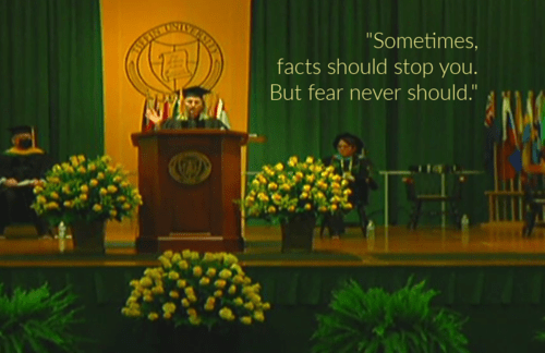 How to write a commencement speech