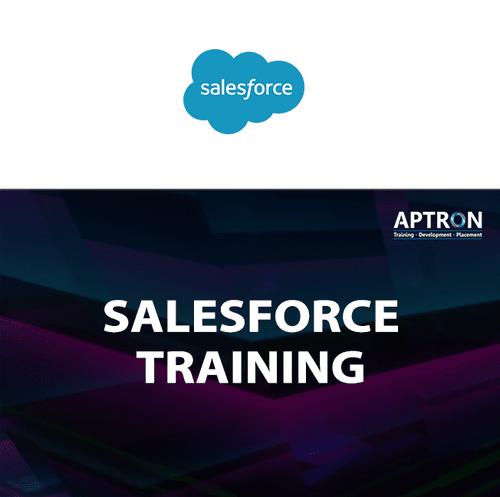 Salesforce Training in Delhi via Aptron Delhi