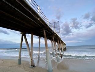 Under the Boardwalk via Steven Hughes