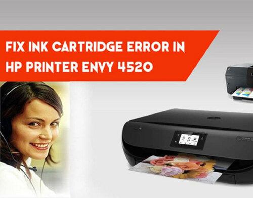 HP Printer Ink Cartridge Error- How to Solve?