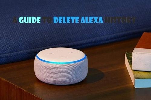 A Guide to Delete Alexa History