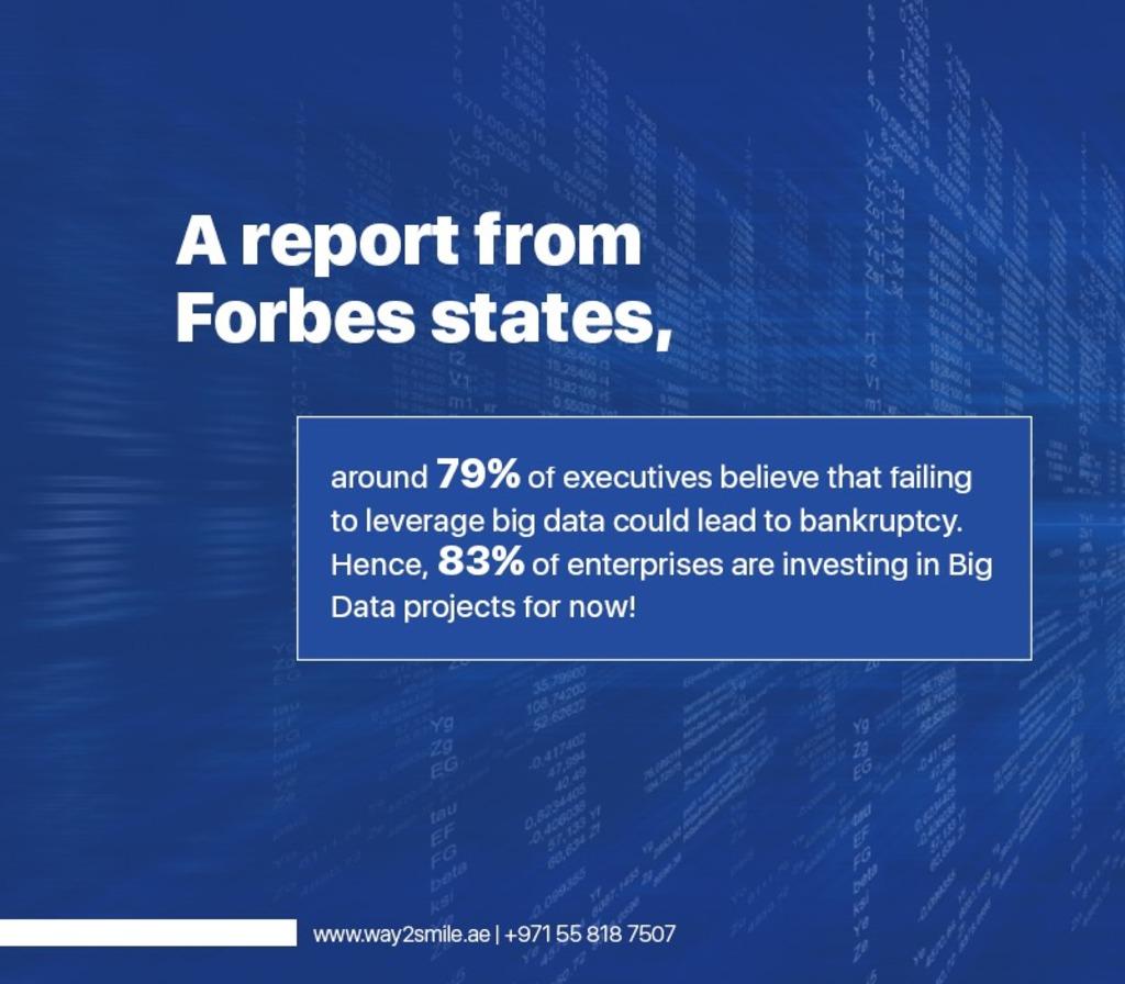 Big Data Statistics via Way2Smile Solutions - UAE