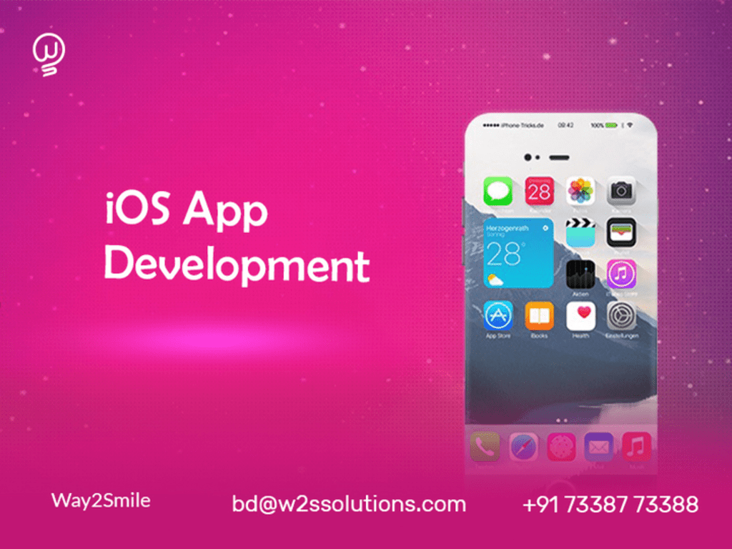 Way2Smile is regularly engaged in the iOS mobile app develop... via Way2Smile
