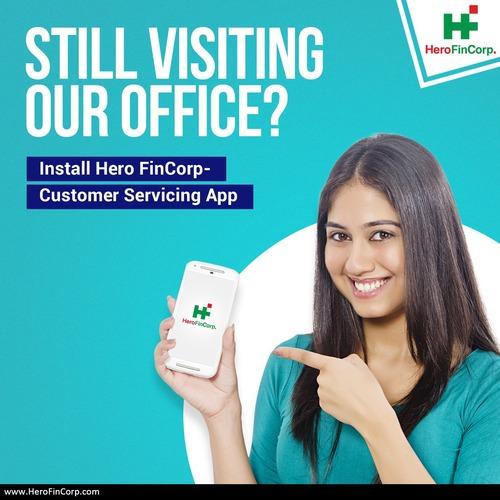 Hero FinCorp Customer Servicing App via Hero FinCorp