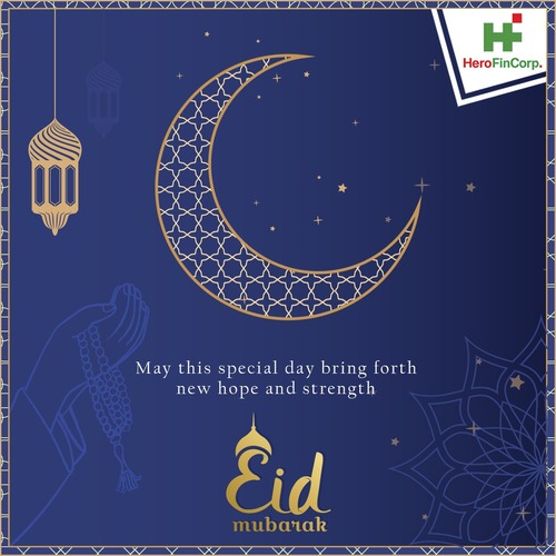 Eid Mubarak via Hero FinCorp