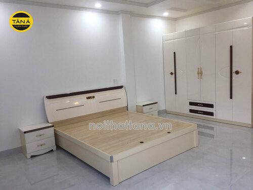 Giường ngủ giá rẻ Cần Thơ - Xu hướng Giường Tủ Tân Á đẹp, mới nhất