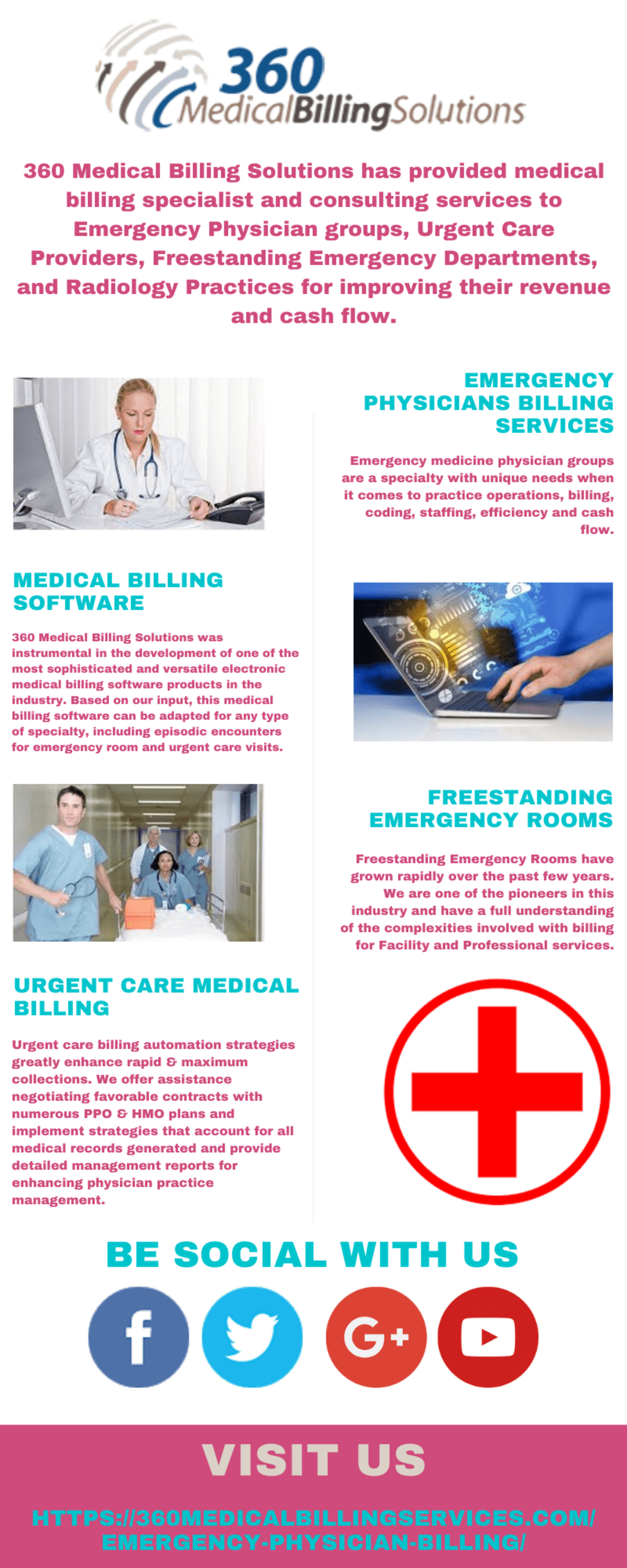 Emergency Physicians Billing Services - 360 Medical Billing ... via 360 Medical Billing Solutions